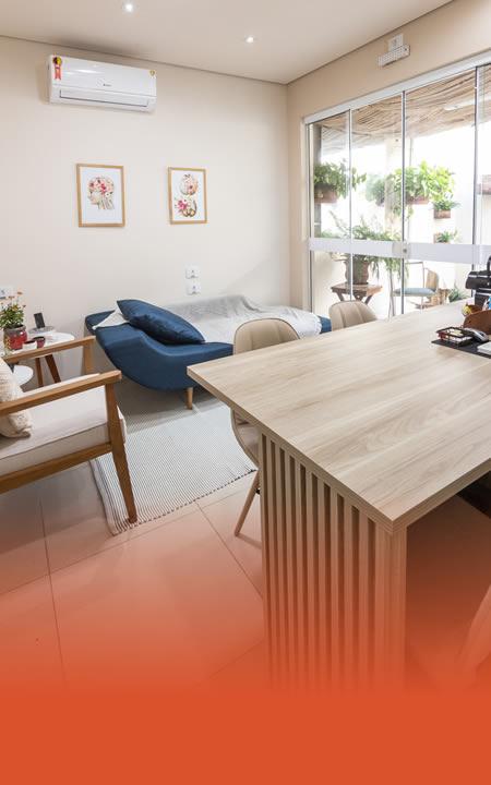 Salas mobiliadas para profissionais de saúde, estética e business